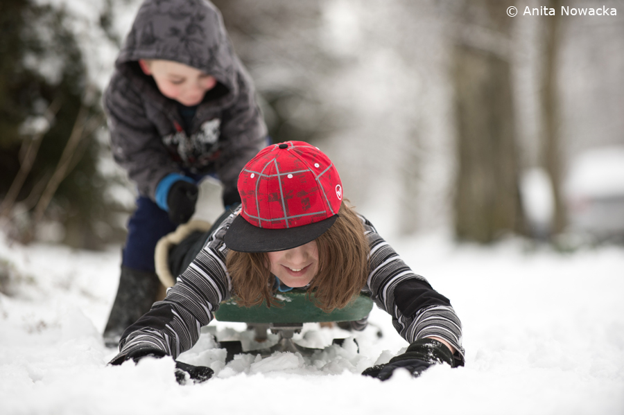 Wintertime Children's Photography